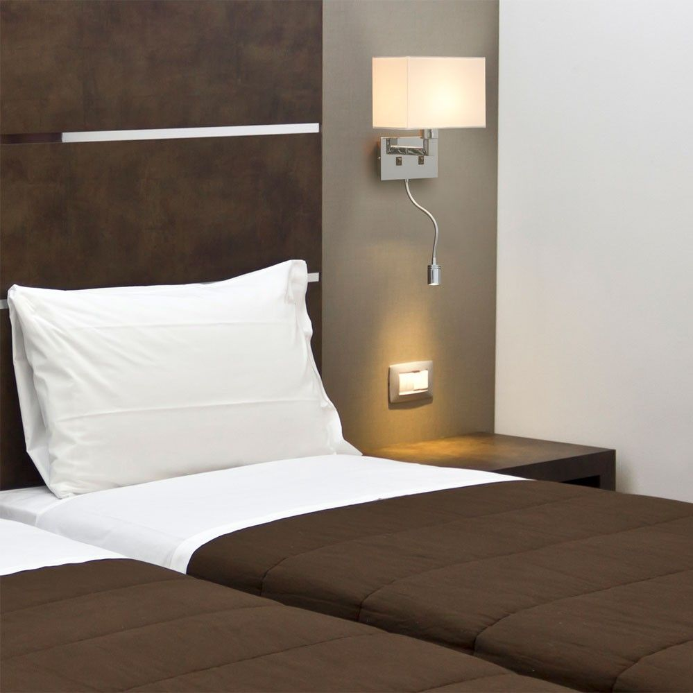 applique murale liseuse led sinki luminaire. Black Bedroom Furniture Sets. Home Design Ideas
