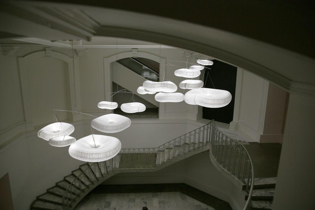 Acoustic Light Fixtures : Cloud lamps from molostudio ceiling lamp pendant
