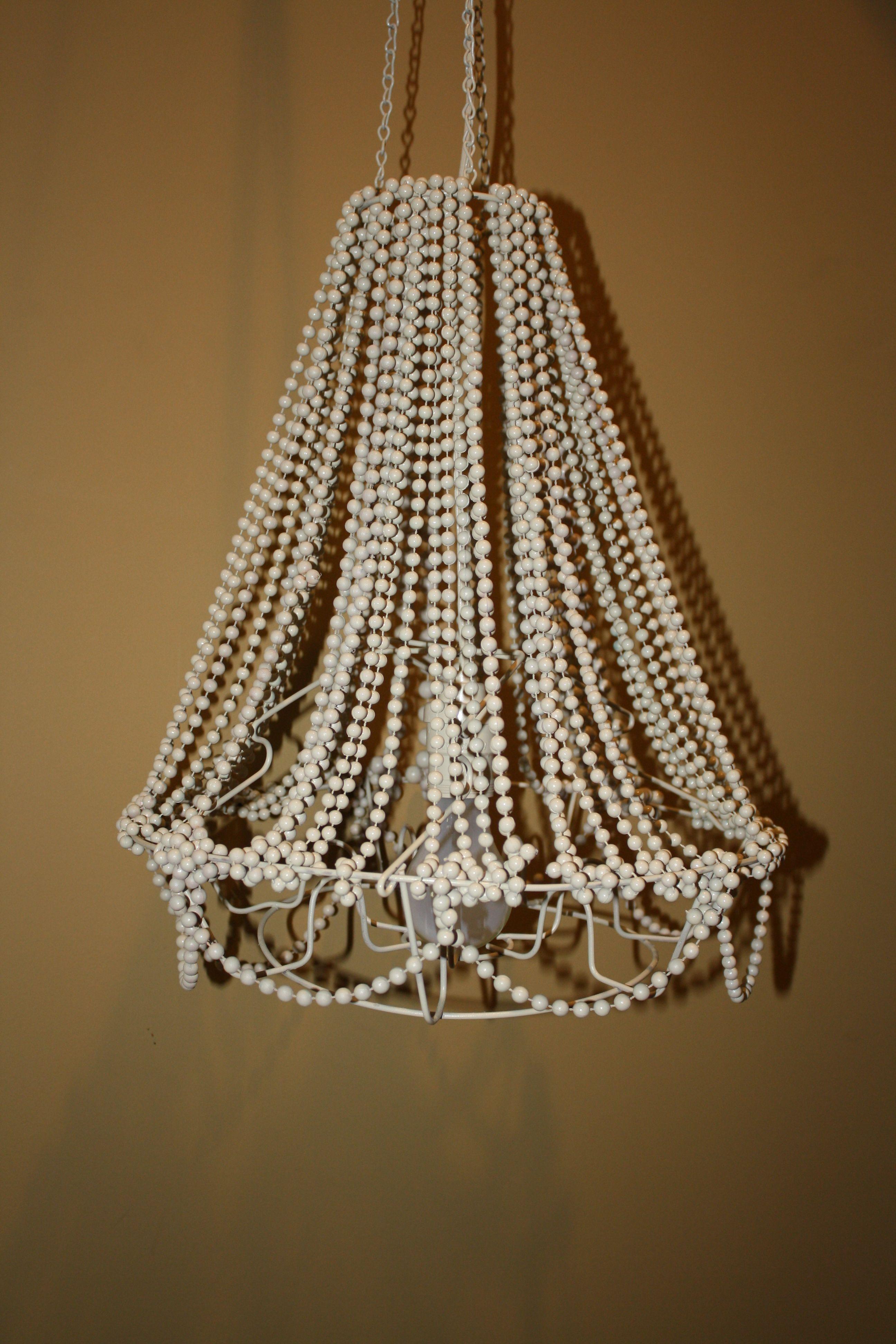 Diy chandelier canning rack mardi gras beads light socket diy chandelier canning rack mardi gras beads light socket spray paint arubaitofo Choice Image