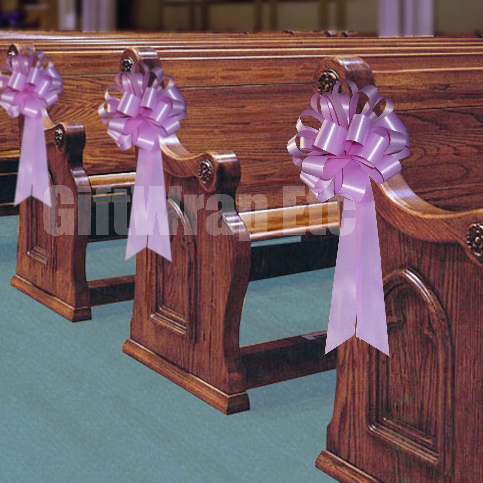church pew wedding decorations ogreen | ... PULL PEW BOWS SHOWER ...