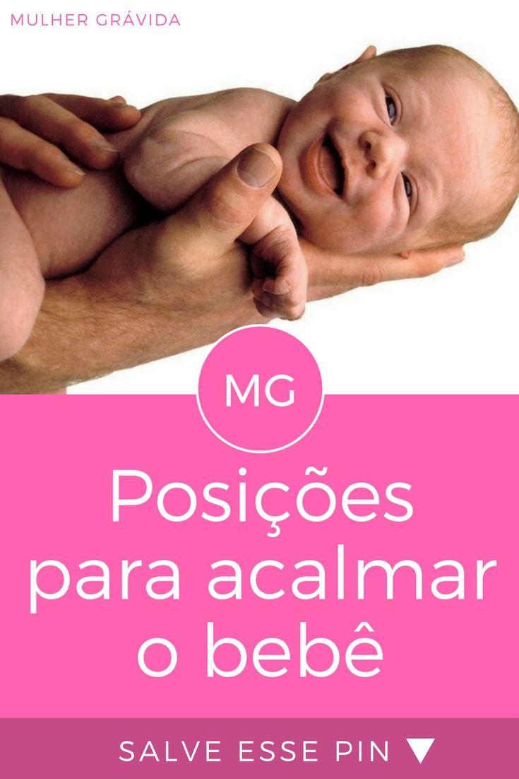 Acalmar o bebê   Posições para acalmar o bebê   Você conhece a posição guitarra? Veja esta e outras maneiras de carregar o bebê para acalmá-lo.