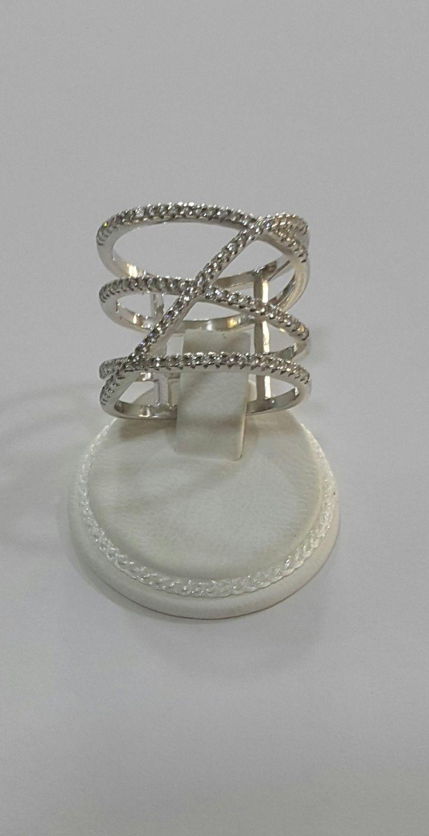 Δαχτυλίδι από ασήμι 925  με λευκά ζιργκόν  be963d3fb8a