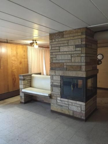 Fireplace Home 63 Howard Avenue Binghamton New York USA Built