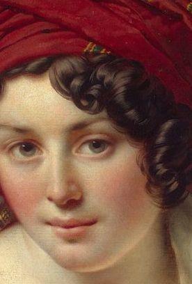 Testa di donna - Anne-Louis Girodet de Roussy Trioson