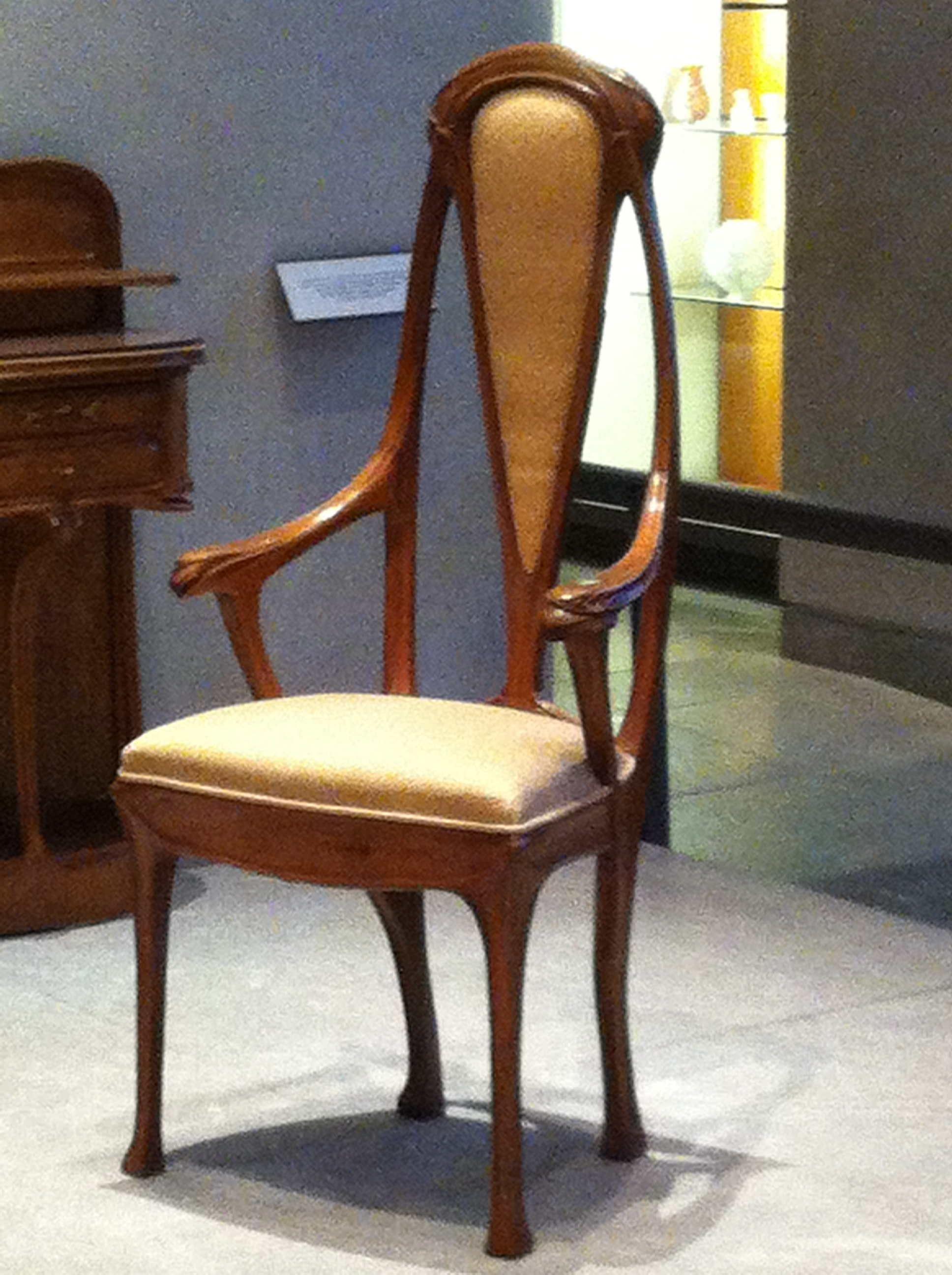 Chaise Style Art Nouveau chaise art nouveau / hector guimard | art nouveau furniture