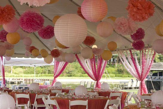 Martha Stewart Bridal Shower Decorations | How To Make Paper Lanterns Martha  Stewart Pictures 3