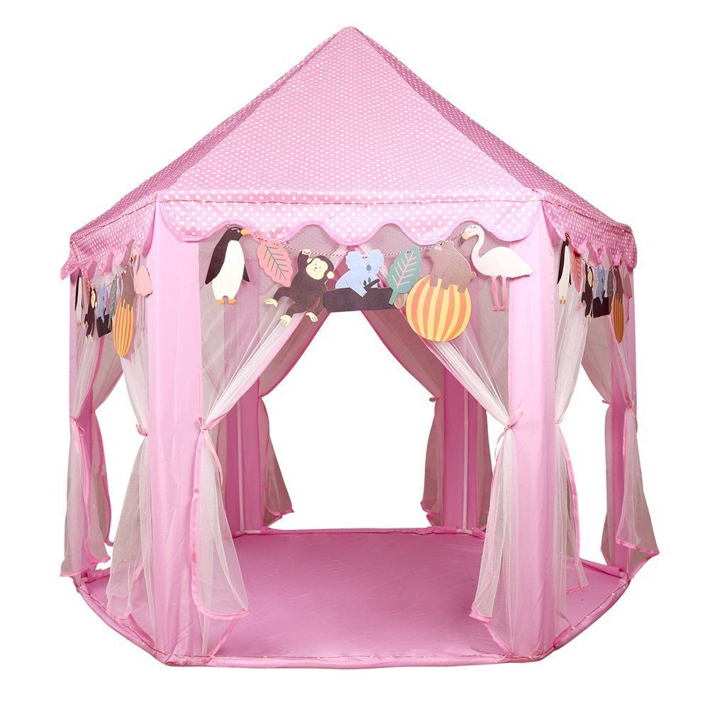 Kids Princess Castle Play House LEKESI Play Tent For Outdoor and Indoor. PORTABLE AND FOLDING  sc 1 st  Pinterest & Kids Princess Castle Play House LEKESI Play Tent For Outdoor and ...