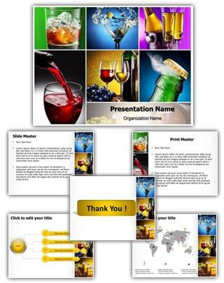 alcohols powerpoint template is one of the best powerpoint templates