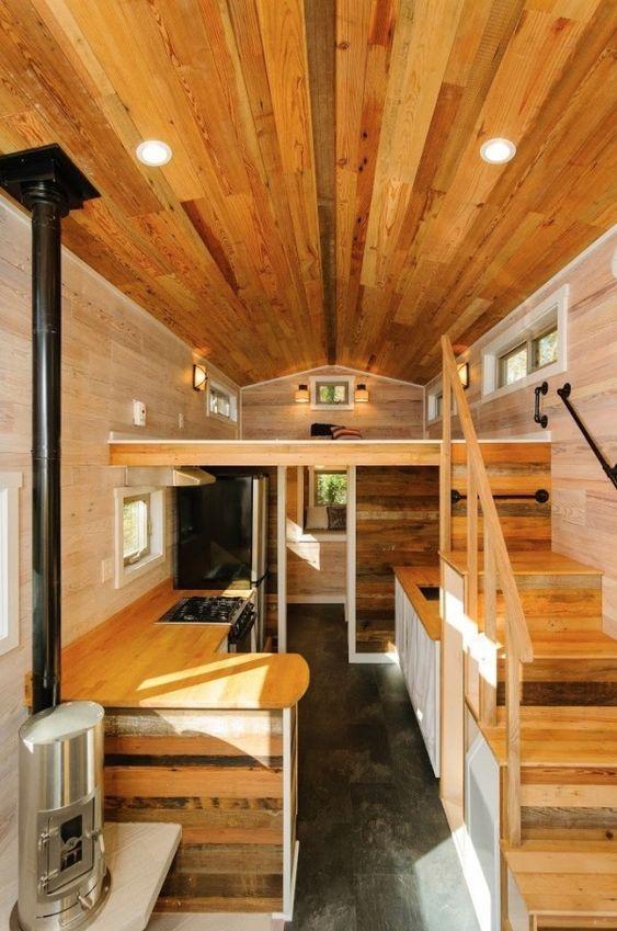 240 Sq. Ft. Triple-Axle Wishbone Tiny Home on Wheels