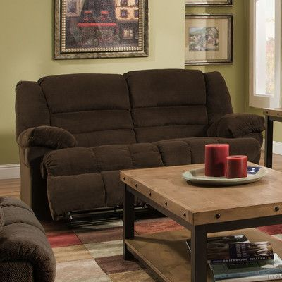 Simmons Upholstery Dynasty Double Motion Loveseat U0026 Reviews | Wayfair