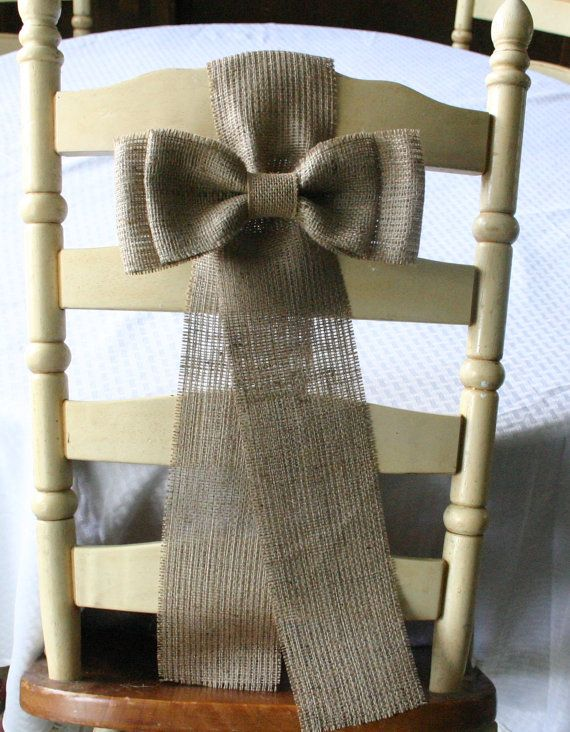 Best 25 Chair Bows Ideas On Pinterest Wedding Chair