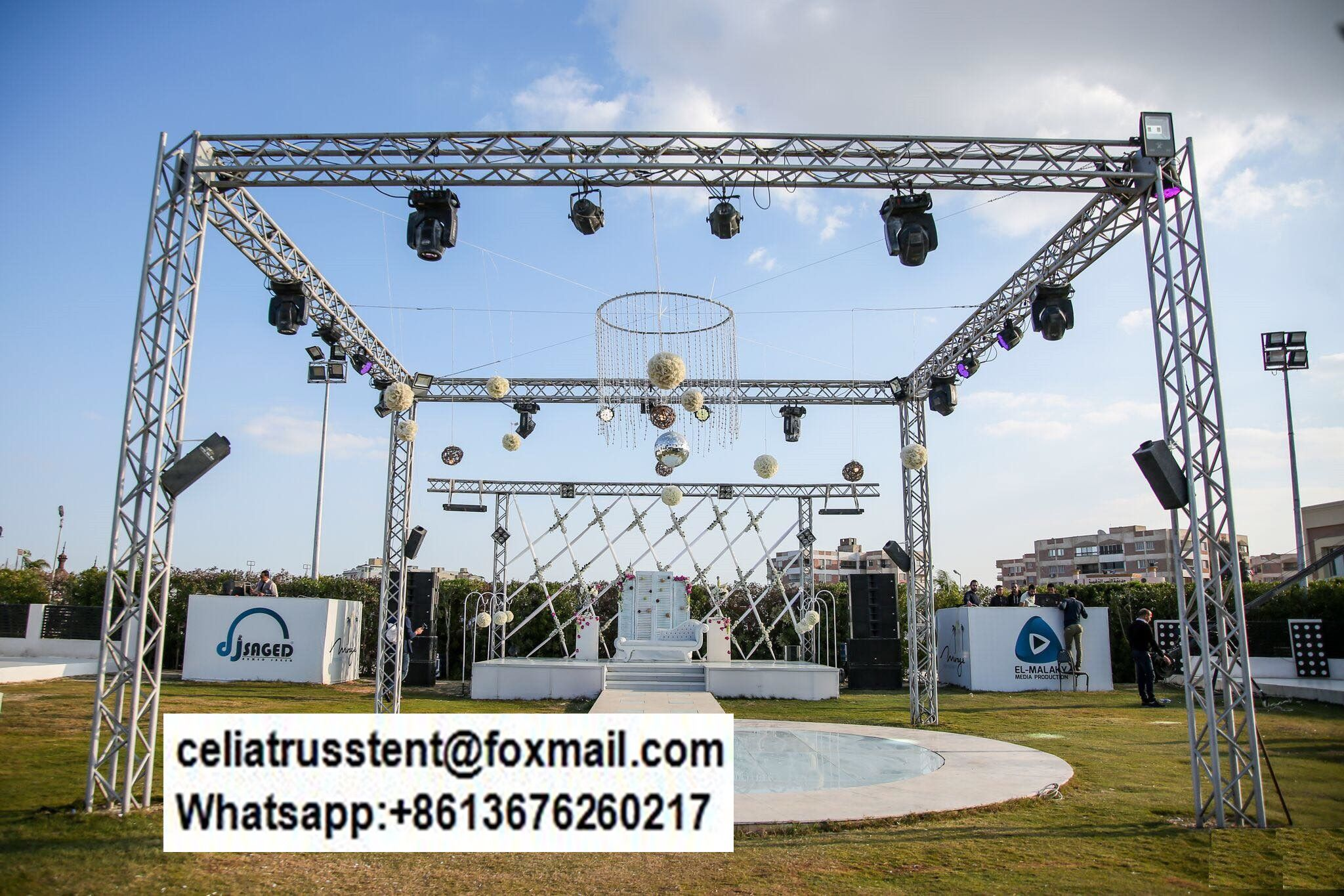 Party Show Truss Feet 290x290mm Tomcat Type Truss Truss Structure Lighting Truss Stage Lighting