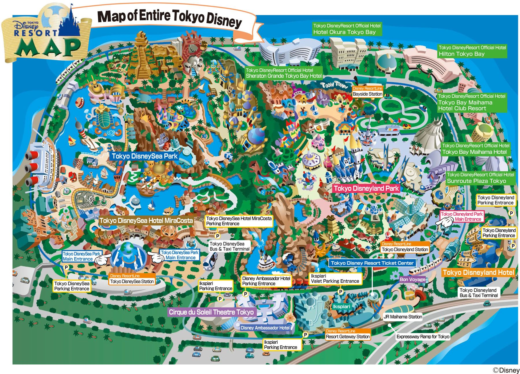 Tokyo Disneyland Map Map Pinterest Disneyland Map Tokyo - Disneyland brazil map