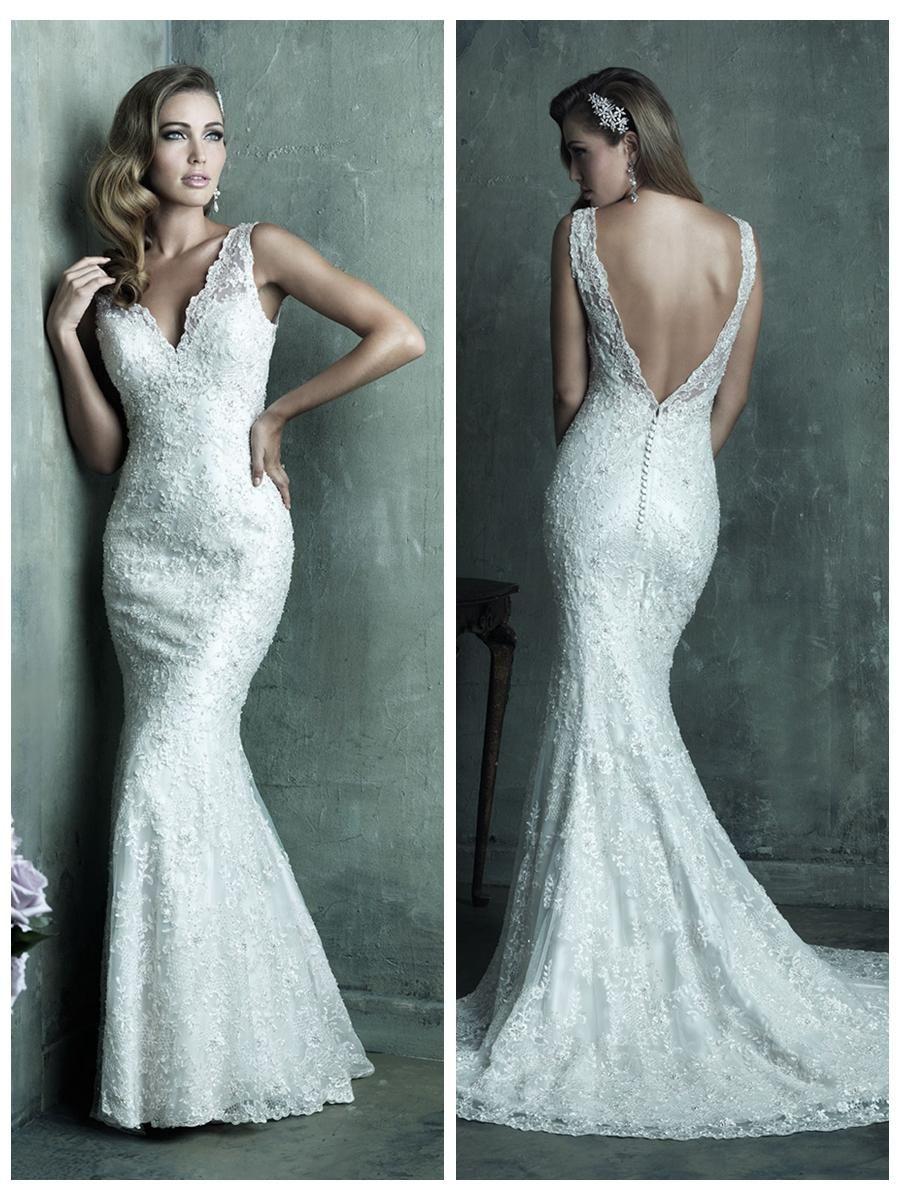 70+ Deep V Back Wedding Dress - Plus Size Dresses for Wedding Guest ...