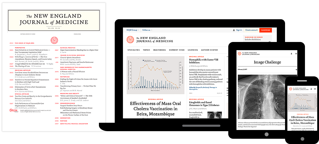 The New England Journal Of Medicine Research Review Articles On Disease Clinical Practice Medicine Journal Disease Harvard Medical School