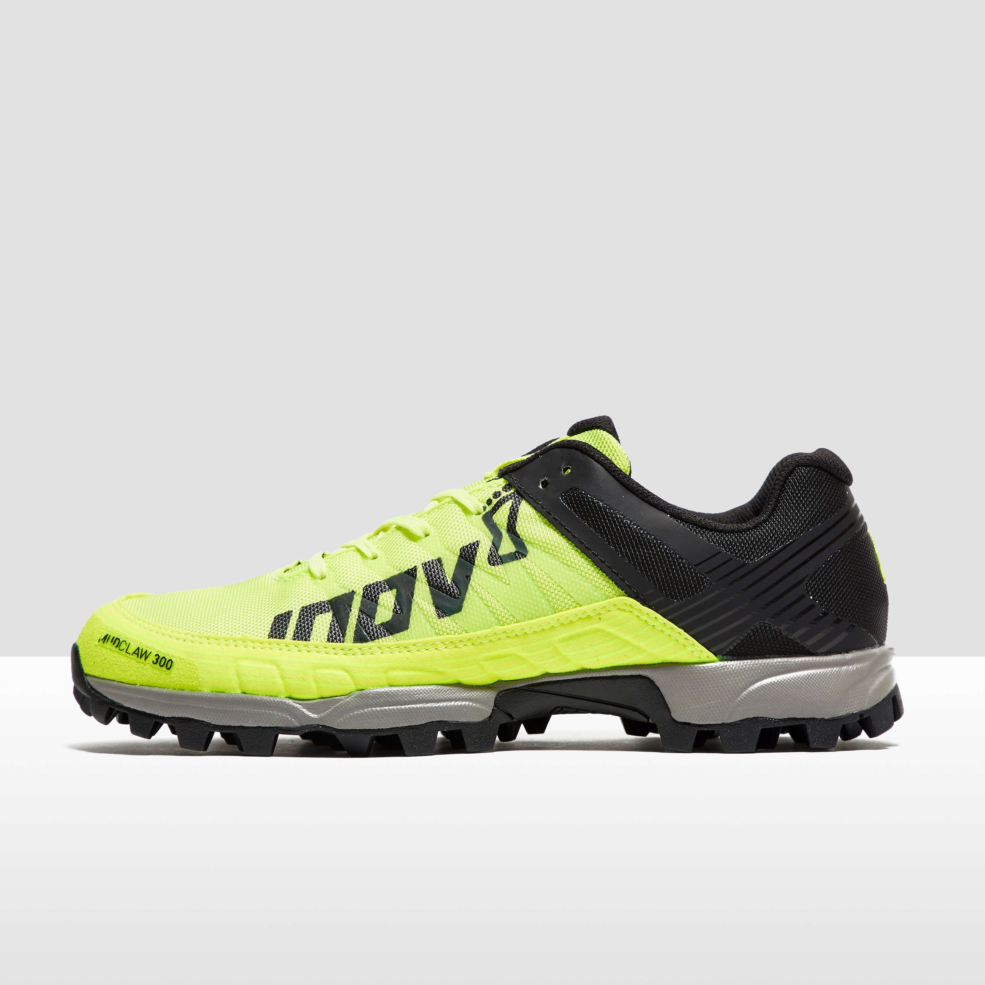 Discount Inov 8 Mudclaw 300 Trail Yellow Running Shoes for Men Online