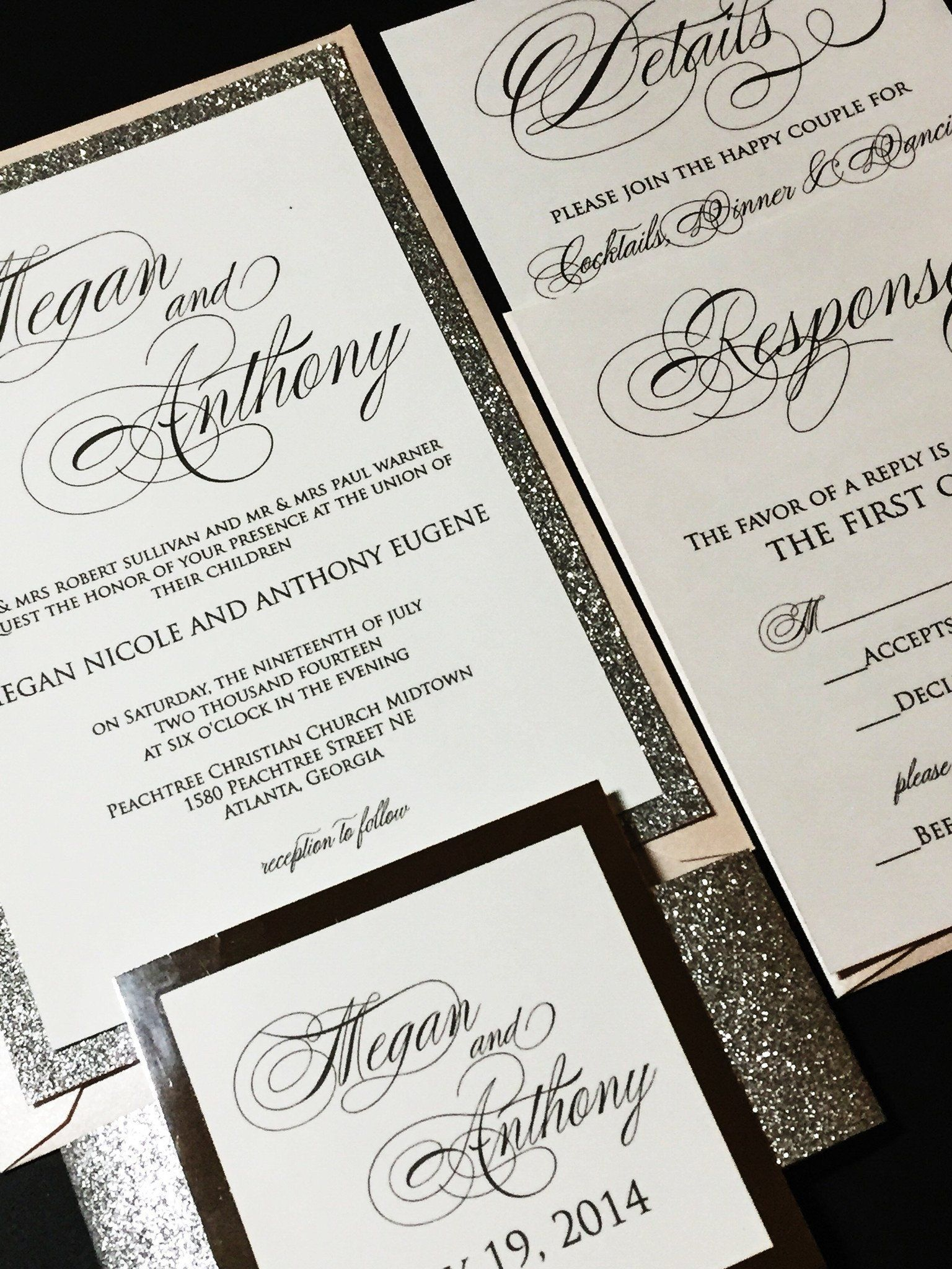 35 Brilliant Image Of Layered Wedding Invitations