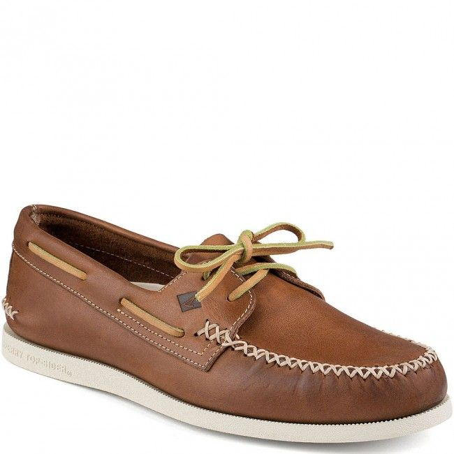 STS13160 Sperry Men's Authentic Original Wedge Boat Shoes - Tan  www.bootbay.com