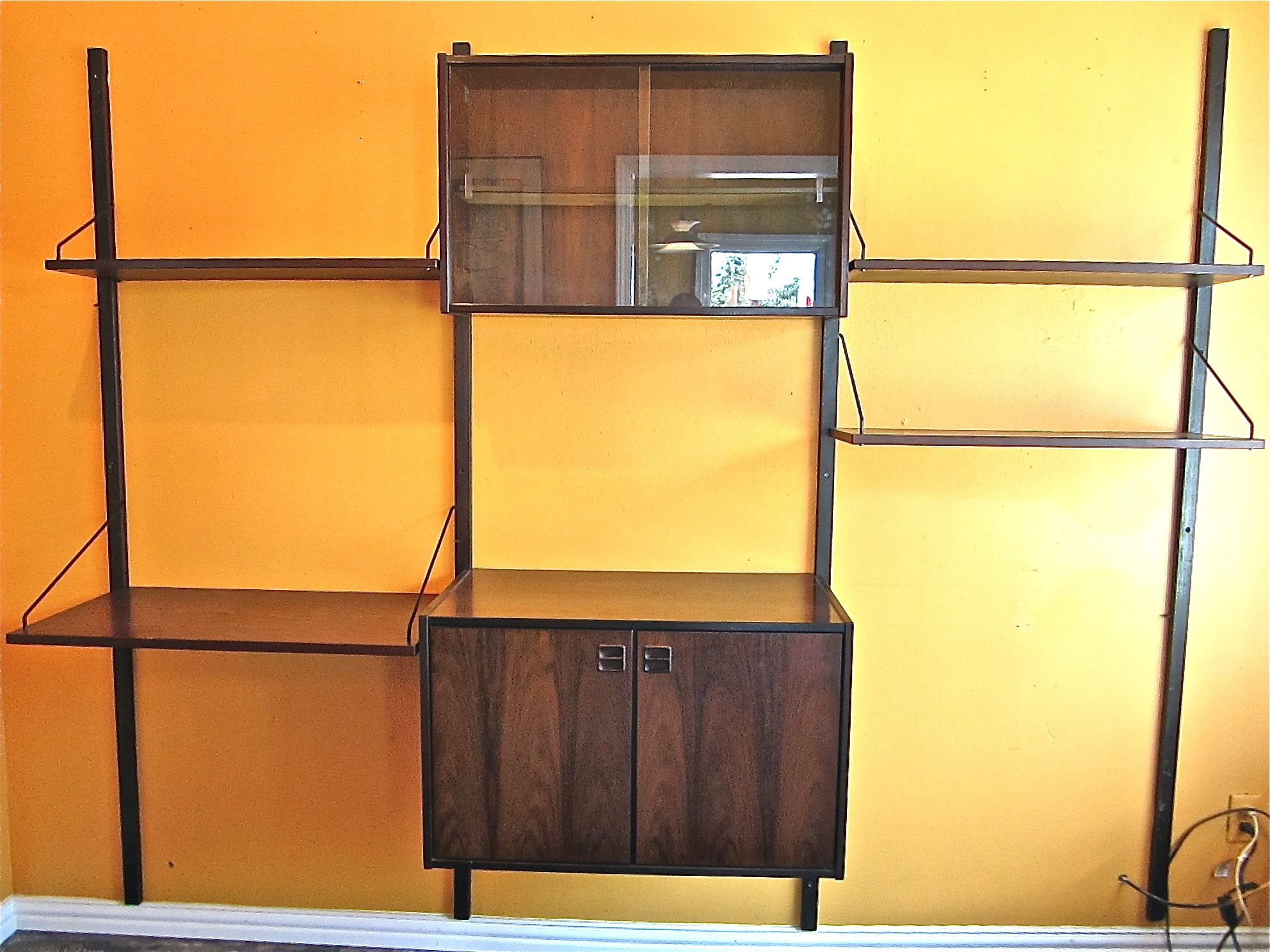 Vintage midcentury wall shelves ideas for the house pinterest