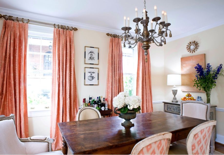 10 Reasons To Love Coral Contemporary Dining Room By Sara Tuttle Interiors