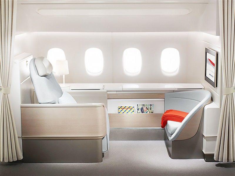 Self Care First Class Seats Best First Class Airline First