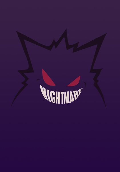 Gengar Wallpaper Iphone Gengar Pokemon Pokemon Gengar