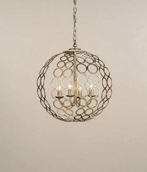 Cleveland Lighting | 4 Light Tartufo Chandelier