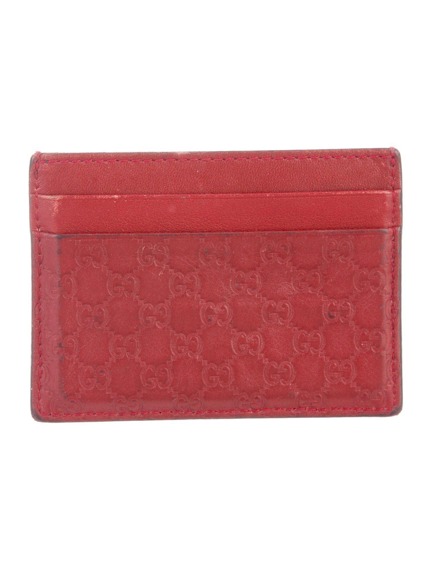 Gucci guccissima card holder guccissima gucci holder