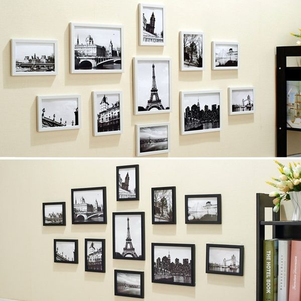 11pcs Frame Diy Combination Photo Wall Home Decoration Waterproof