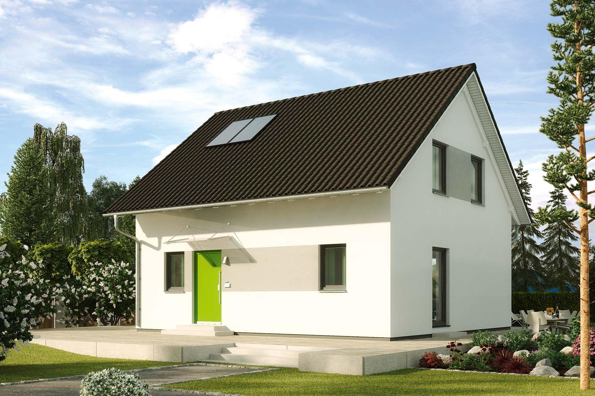 Einfamilienhaus günstig bauen Fliederallee ein Haus