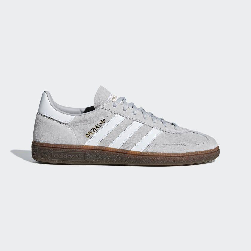 Handball Spezial Shoes Grey Two Ftwr White Gum5 BD7616