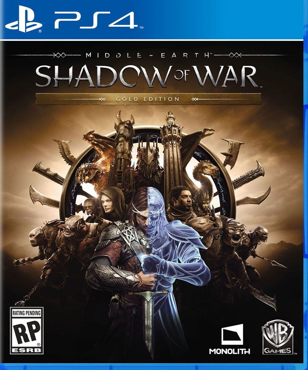Middle Earth Shadow Of War Ps4 Games Videojuegos Juegos Retro
