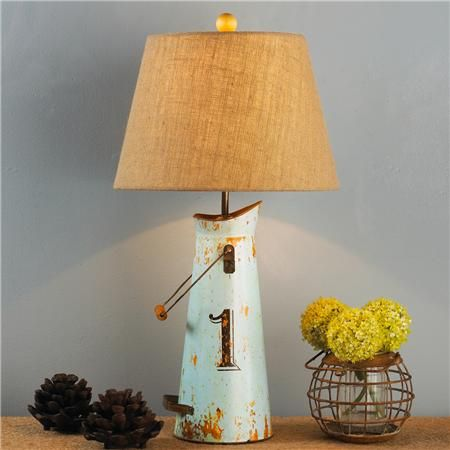 Milk Can Table Lamp 4 Colors Lamp Table Lamp Milk Cans