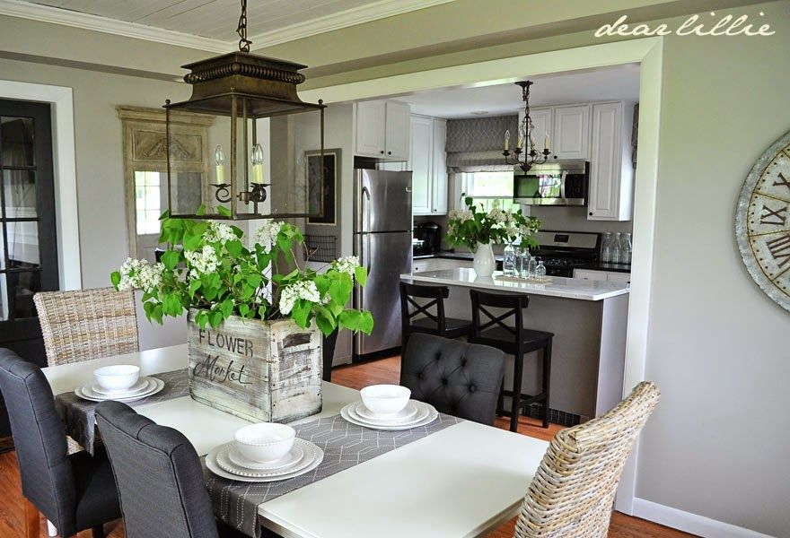 Jason S Kitchen And Dining Room And Our In Christ Alone Oversized Signs By Dear Lillie Dining Room Inspiration Kitchen Dining Room Dear Lillie Jason kitchen and dining room