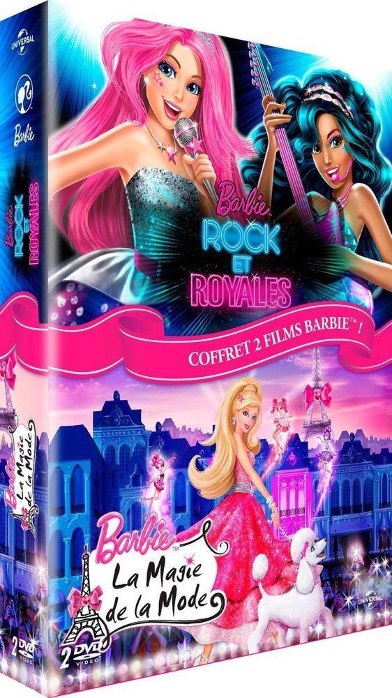 Barbie Rock Et Royales La Magie De La Mode Dvd Neuf Barbie Film De Barbie Films Complets