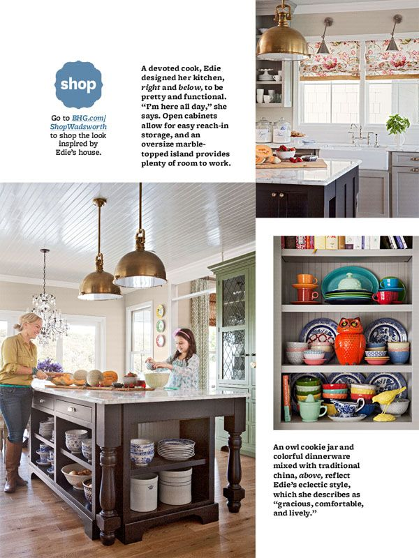 BHG Digital With FHD Design Boards Edie Wadsworth Tour For Delectable Bhg Kitchen Design Style