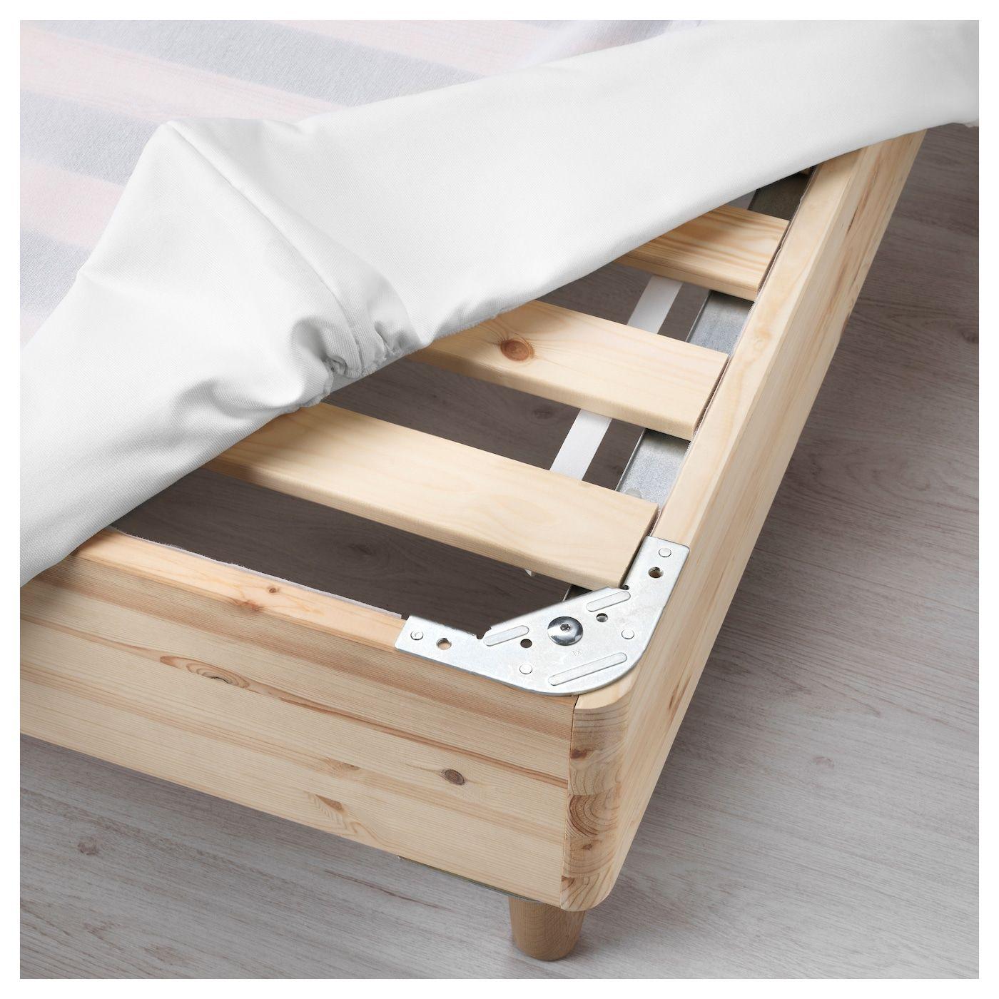 ESPEVÄR Slatted mattress base for bed frame white Full