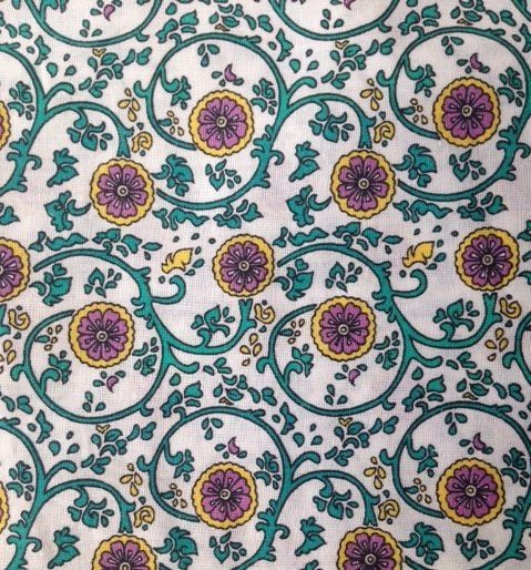 Vintage Liberty Dress Fabric Cotton Material Mint Condition Very Large Size Ebay Cotton Crafts Craft Fabrics Fabric