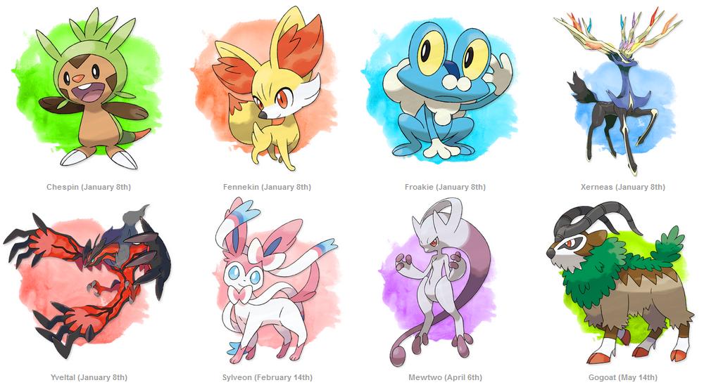 Pokemon X And Y Characters Names | www.pixshark.com ...