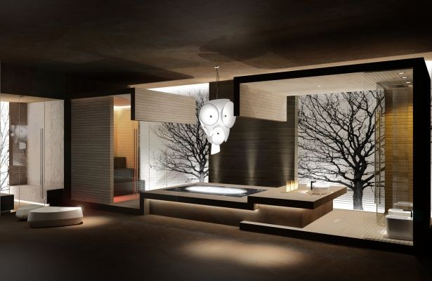 HSDESIGN – Mostra espositiva itinerante architettura, design, edilizia, benessere – Installazioni espositive – AETHEREA PRIVATE SPA