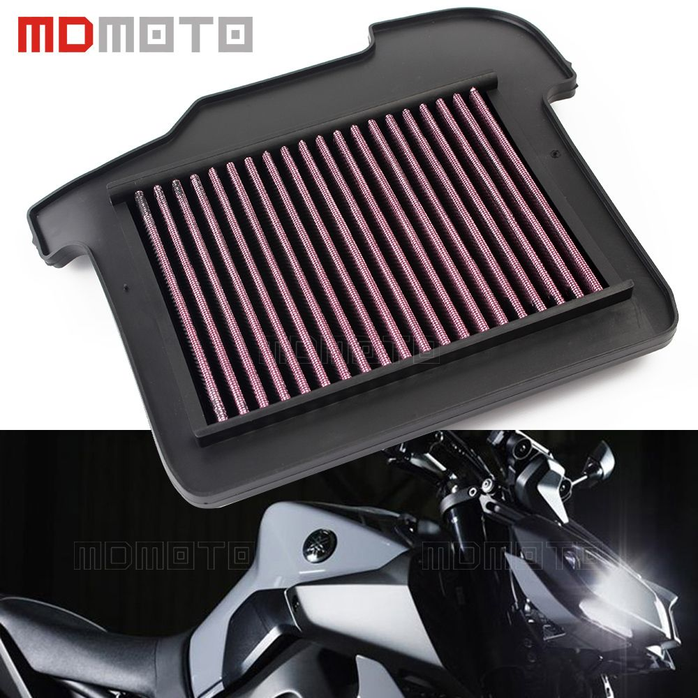 Motorcycle High Flow Air Cleaner Filter Element