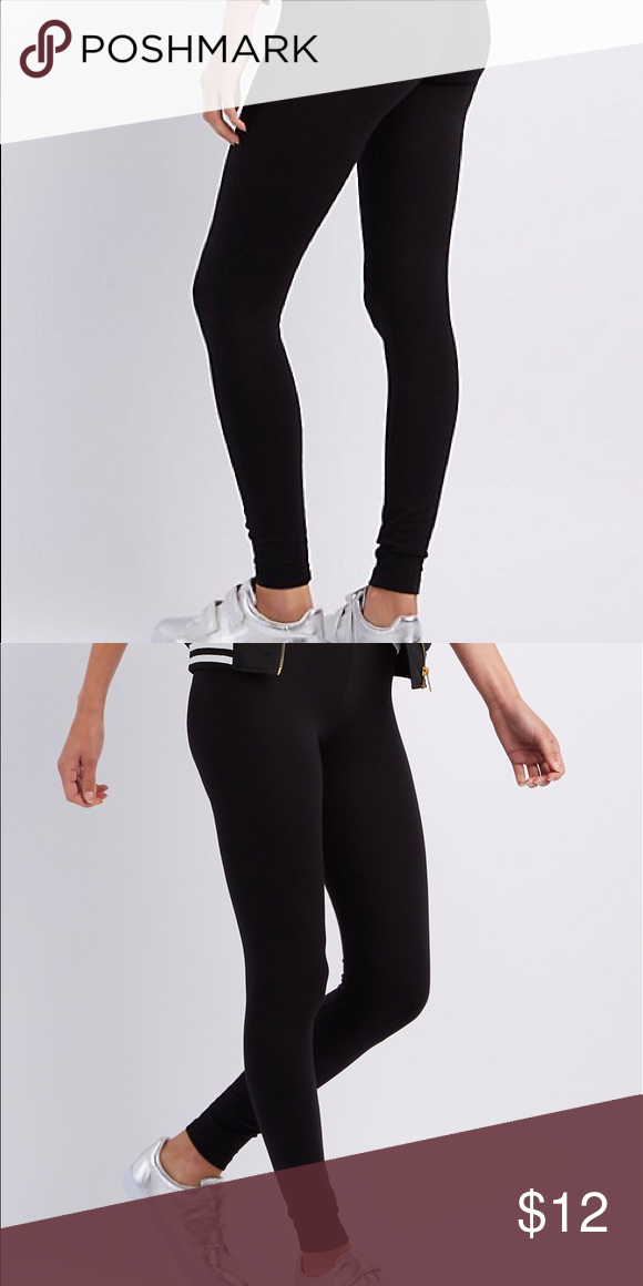 dce22e9e1e Get back to the basics with these comfy and cute, cotton-spandex leggings!  waistband tapers into stretchy legs to make the ultimate layering essential.
