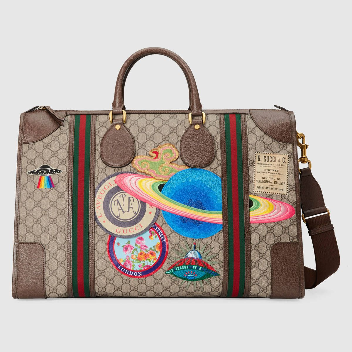 8836b4150 Gucci Courrier soft GG Supreme duffle bag | bag in 2019 | Leather ...