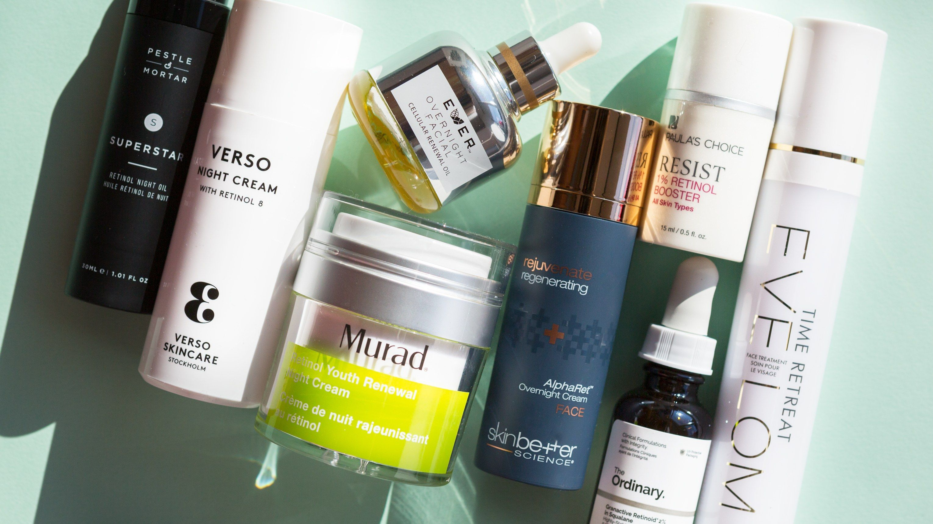 The 14 Best Over The Counter Retinol Creams And Serums We Ve Ever Tried Retinol Cream Retinol Best Retinol Cream