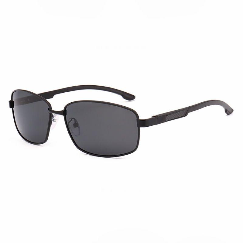 Small Frame Mens Polarized Driving Sunglasses Black/Grey | Driving ...