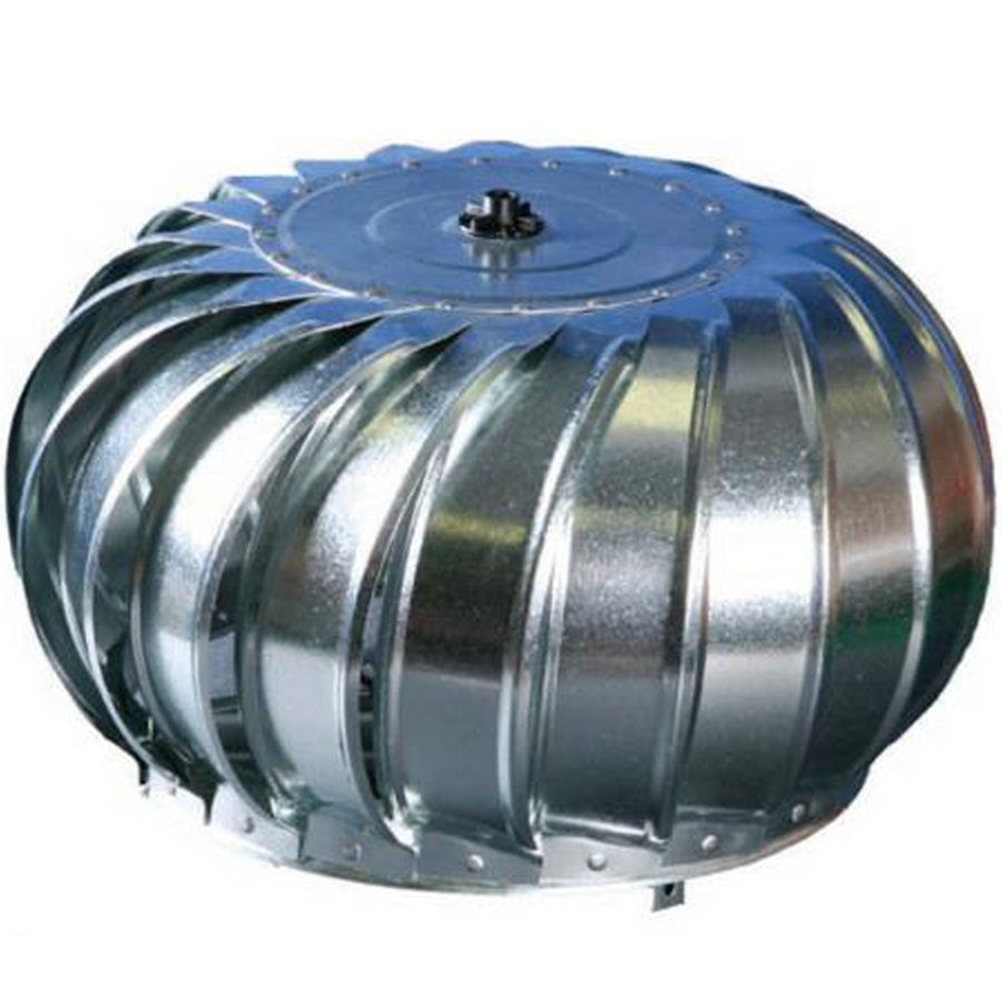 Air Vent 12-in Galvanized Steel Internally Braced Roof Turbine Vent ...
