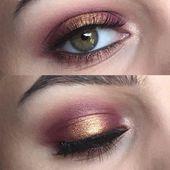 Las 45 mejores ideas de maquillaje de oro rosa para parecerse a una diosa encantadora de maquillaje de oro rosa …