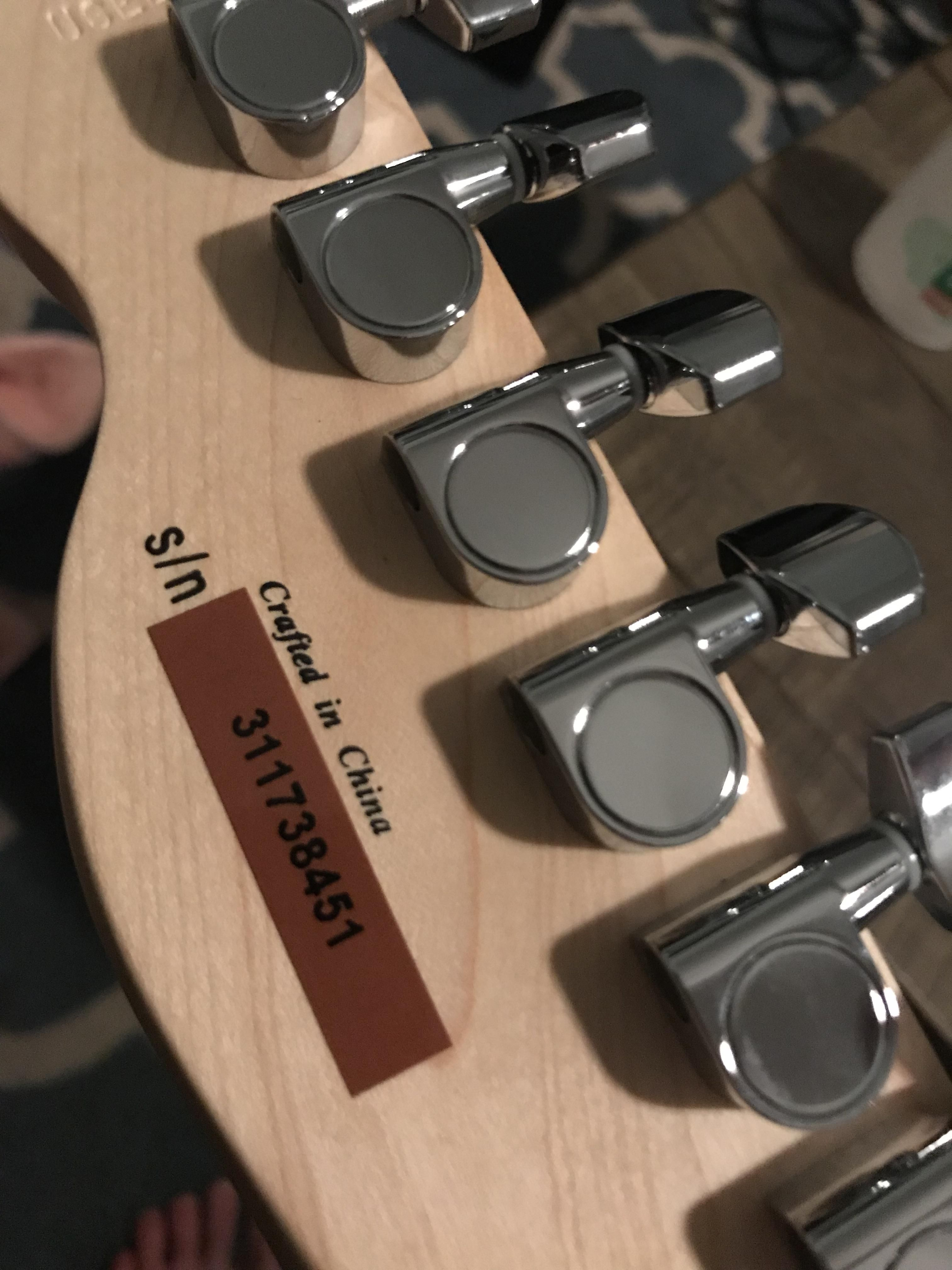 wiring diagram squier affinity telecaster sticker serial number  [ 3024 x 4032 Pixel ]