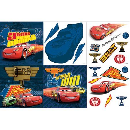 Disney Cars Decorating Kit, Multicolor Car decor, Disney