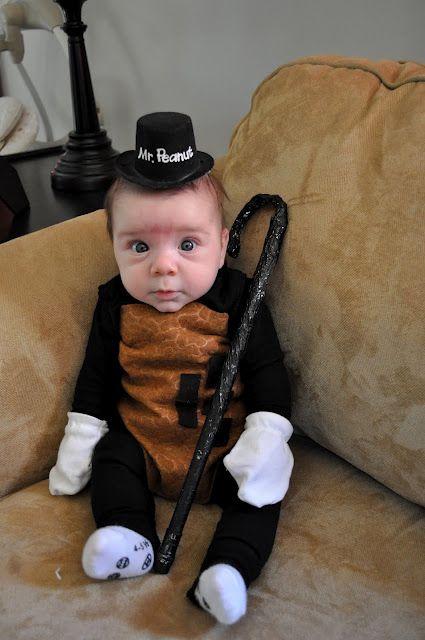 mr peanut baby halloween costume via shannanigans